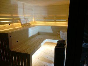 domek saunowy - drewniana sauna sucha